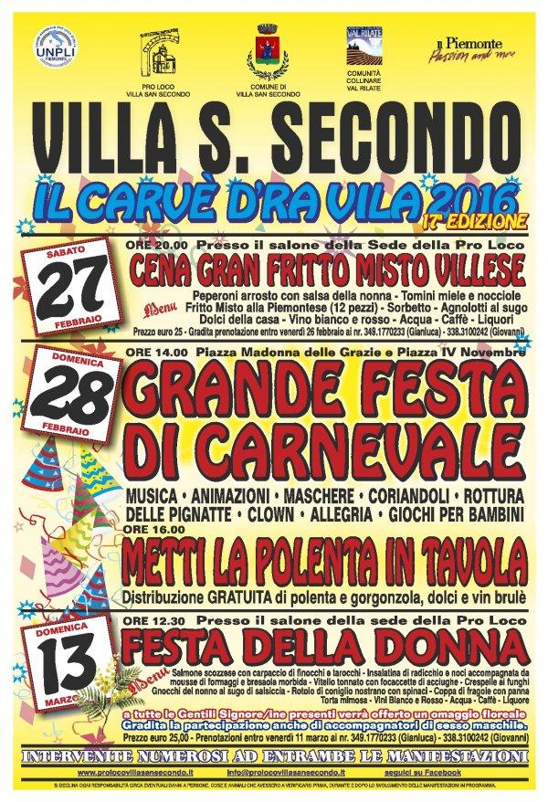 Carnevale a Villa San Secondo