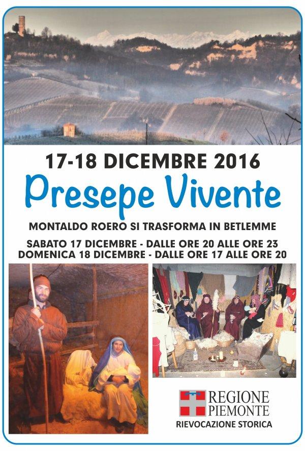 PRESEPE VIVENTE MONTALDO ROERO