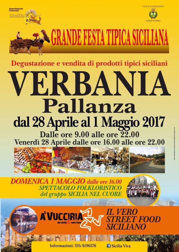 SICILIA VIVA IN FESTA A VERBANIA