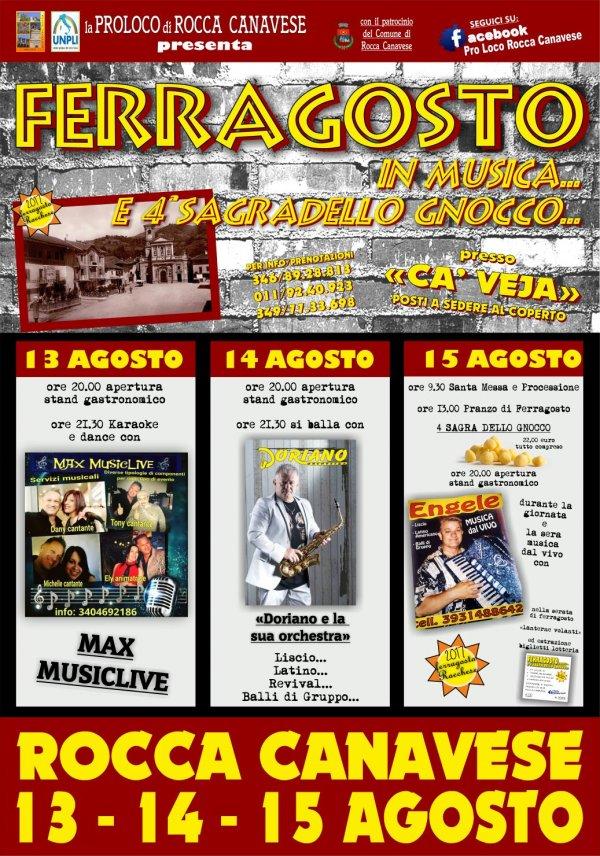 SAGRA DELLO GNOCCO -FERRAGOSTO IN MUSICA