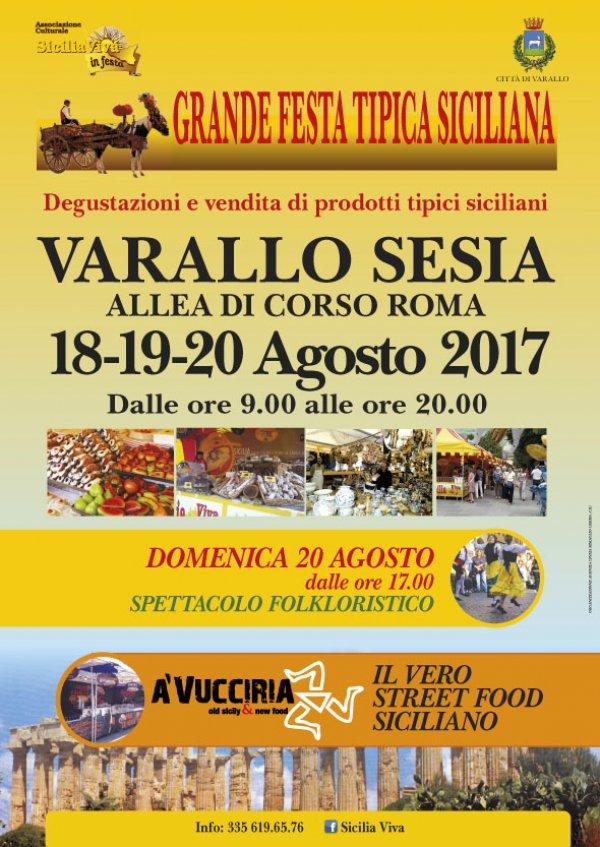 SICILIA VIVA IN FESTA A VARALLO SESIA