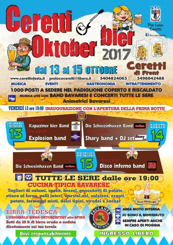 Ceretti Oktober bier 2017