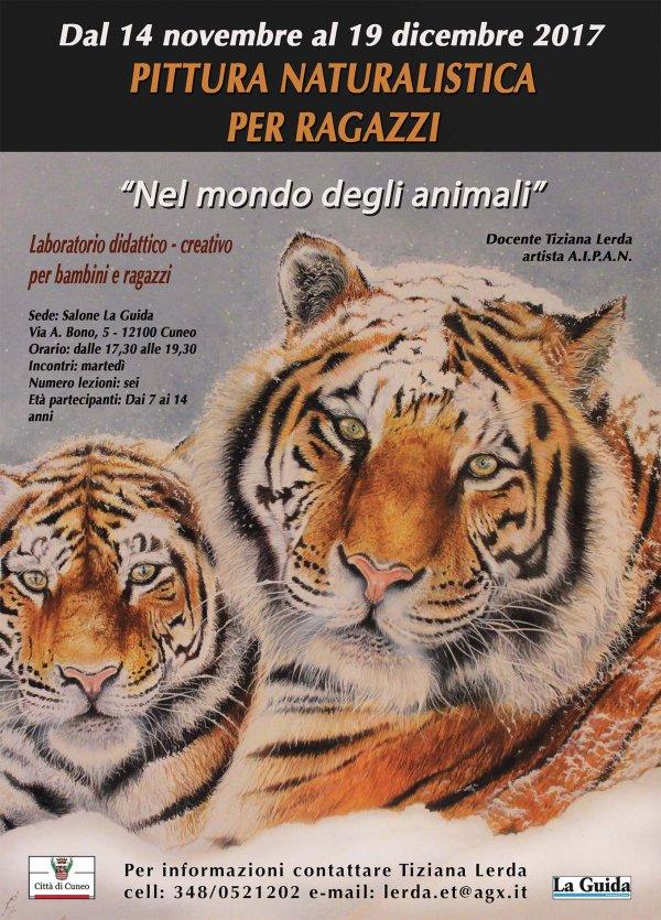 Corso di pittura naturalistica per bambini e ragazzi: