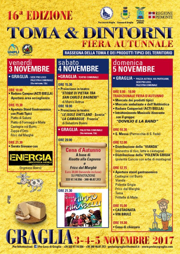 TOMA & DINTORNI fiera autunnale