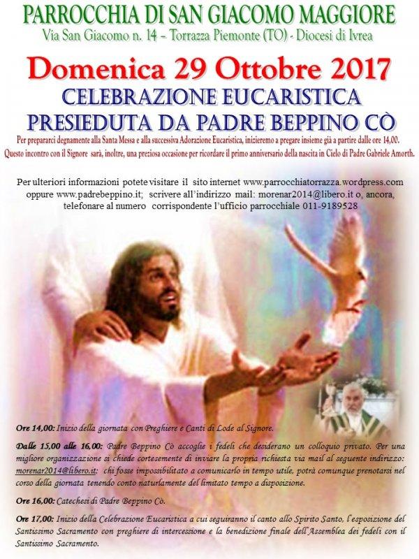 Padre Beppino Co  a Torrazza Piemonte