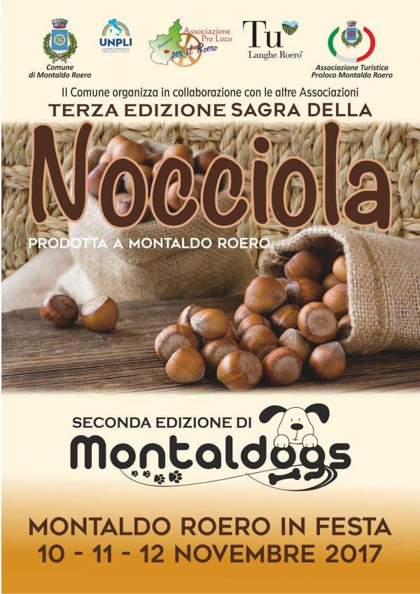 MONTALDO ROERO IN FESTA - SAGRA DELLA NOCCIOLA e MONTALDOGS