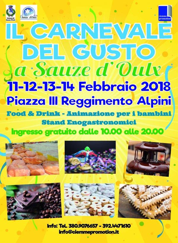 Carnevale del Gusto a Sauze d Oulx