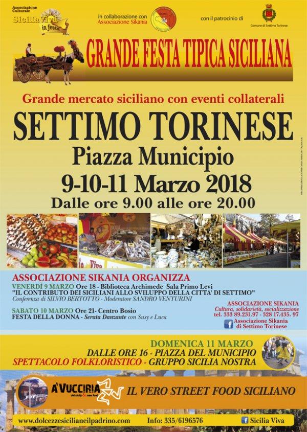 SICILIA VIVA IN FESTA A SETTIMO TORINESE