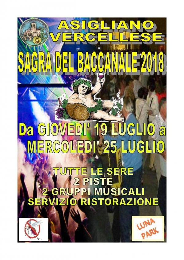 SAGRA DEL BACCANALE D ESTATE