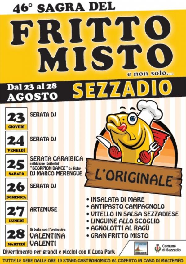 Sezzadio - Sagra del Fritto Misto (...l originale...)