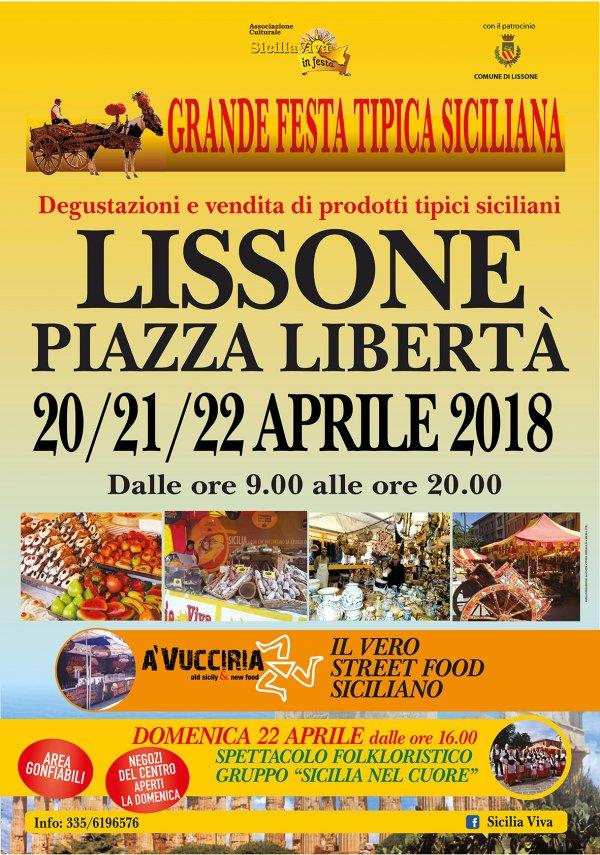 SICILIA VIVA IN FESTA A LISSONE (MB)
