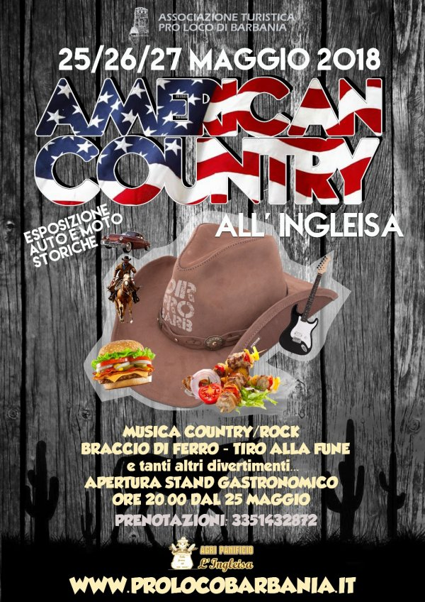 AMERICAN COUNTRY ALL INGLEISA