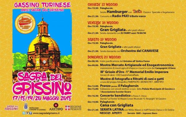 Sagra del Grissino di Gassino Torinese