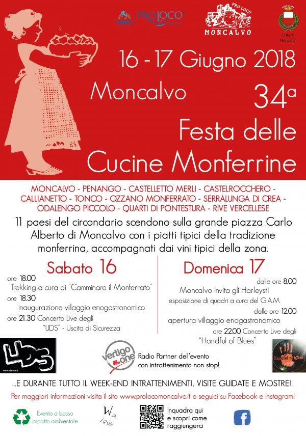 34° Festa delle Cucine Monferrine