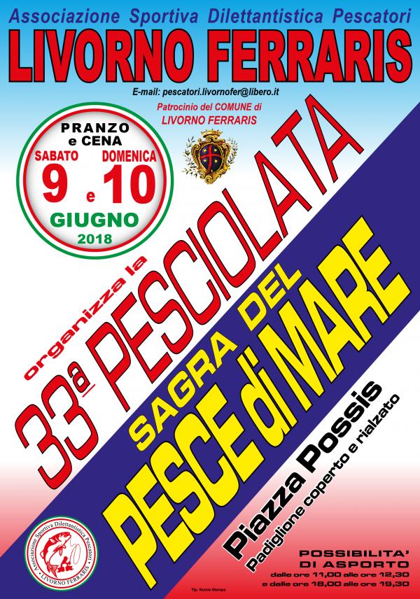 33° PESCIOLATA -SAGRA DEL PESCE DI MARE