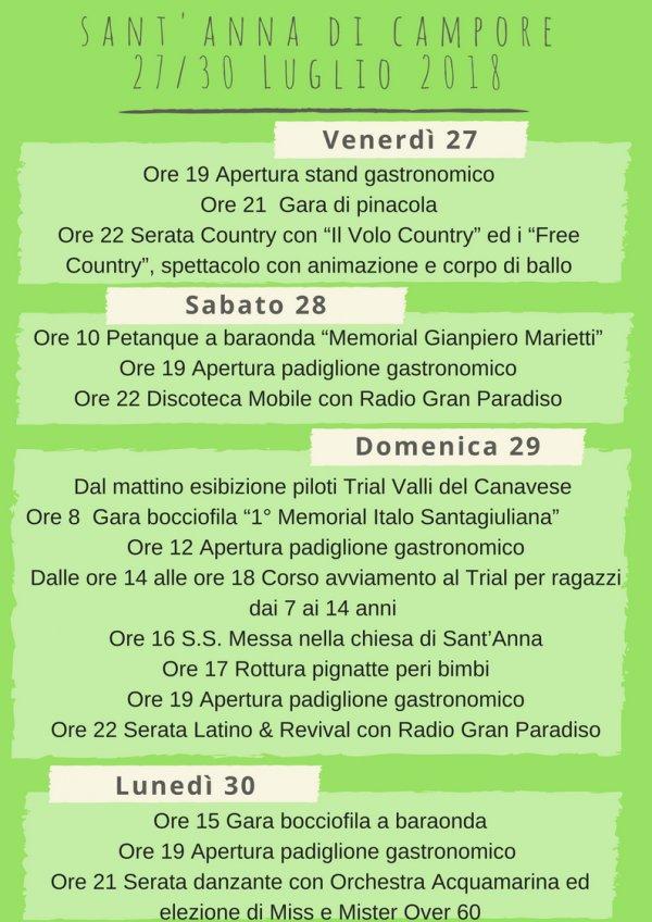 Sant Anna di Campore-Cuorgnè