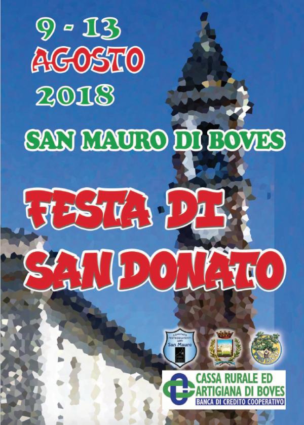 Festa di San donato 2018