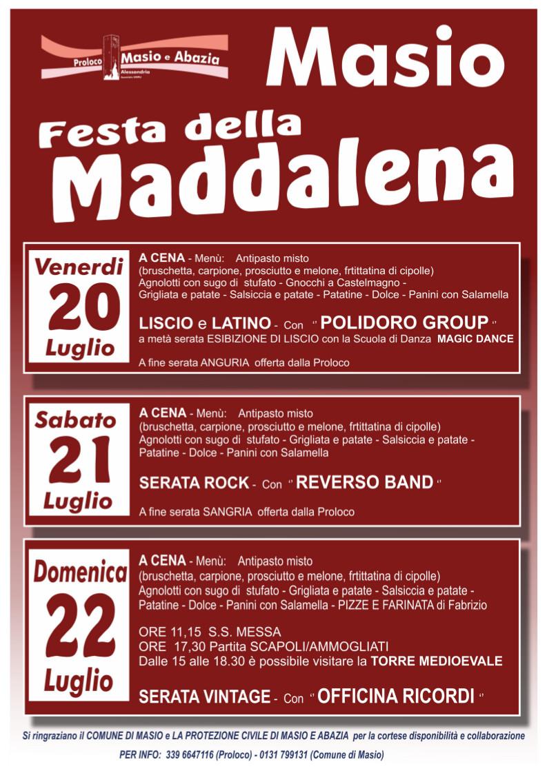 Festa della Maddalena