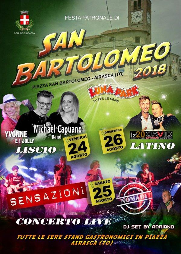 SAN BARTOLOMEO 2018 - Airasca (TO)