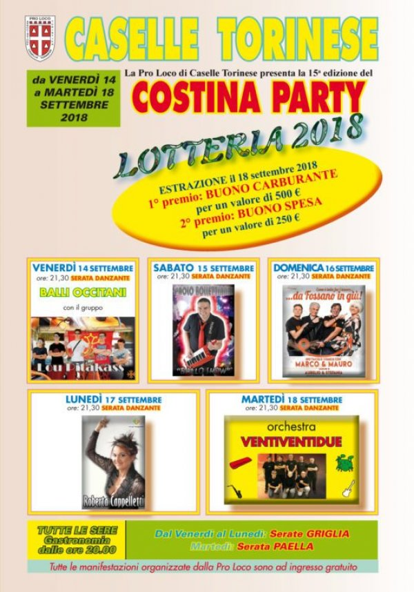 Costina Party 2018 -