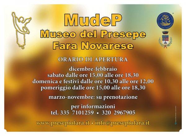 MudeP - Museo del Presepe. Aperture inverno 2018-19